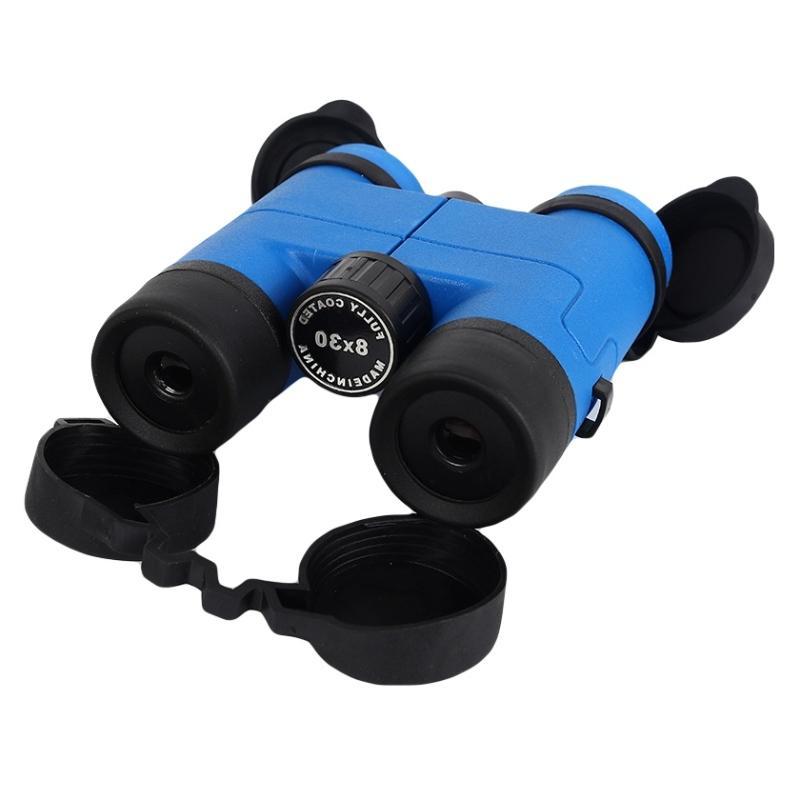 Спорт Дети бинокулярный телескоп 8x30mm High Увеличение Hd Бинокли Открытый Охота Кемпинг аксессуары