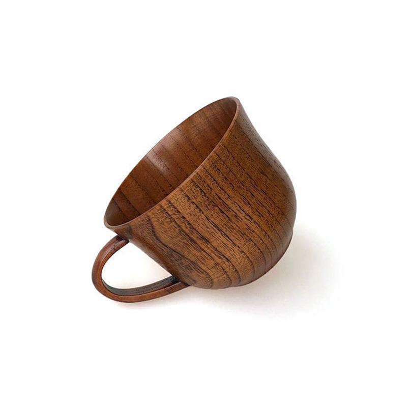 Wooden Cup Wood Coffee Tea Beer wine Juice Milk Water Mug Handmade business Gift Drinking Cup BEF3408