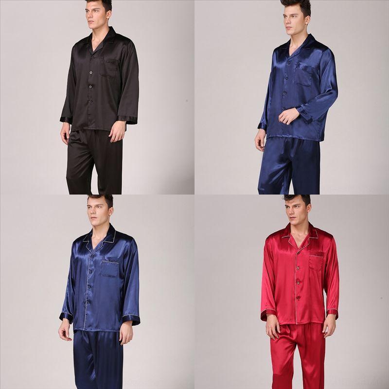 0eb Pajamas Pijama Pyjamas Hiver Couple Couple En automne Cardigan Pyjamas Femmes et hommes Pyjamas Homme à manches longues Sleepwear Men Lounge pour plus