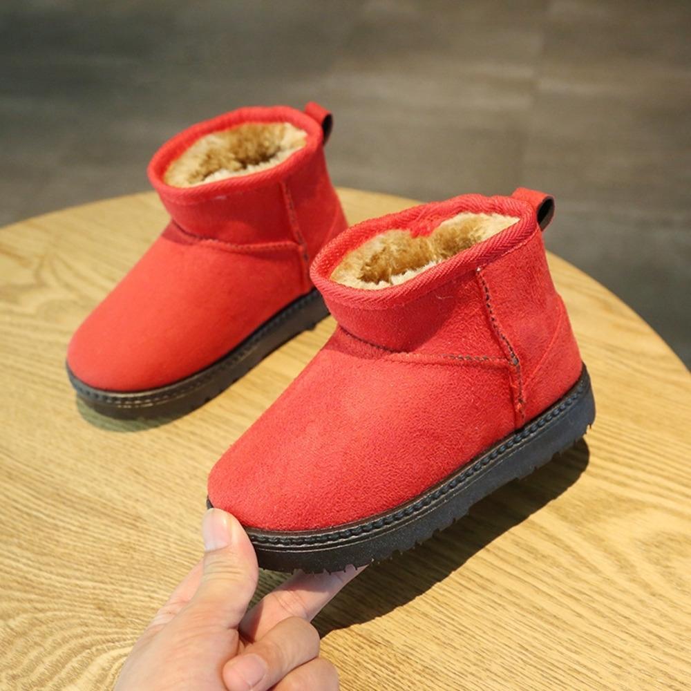 Sydt Faux Invierno Botas de nieve para niños Piel de niños Bota de nieve Knee High Plush 2020 zapatos para niña Cálida Nueva Llegada Botas Australianas Moda