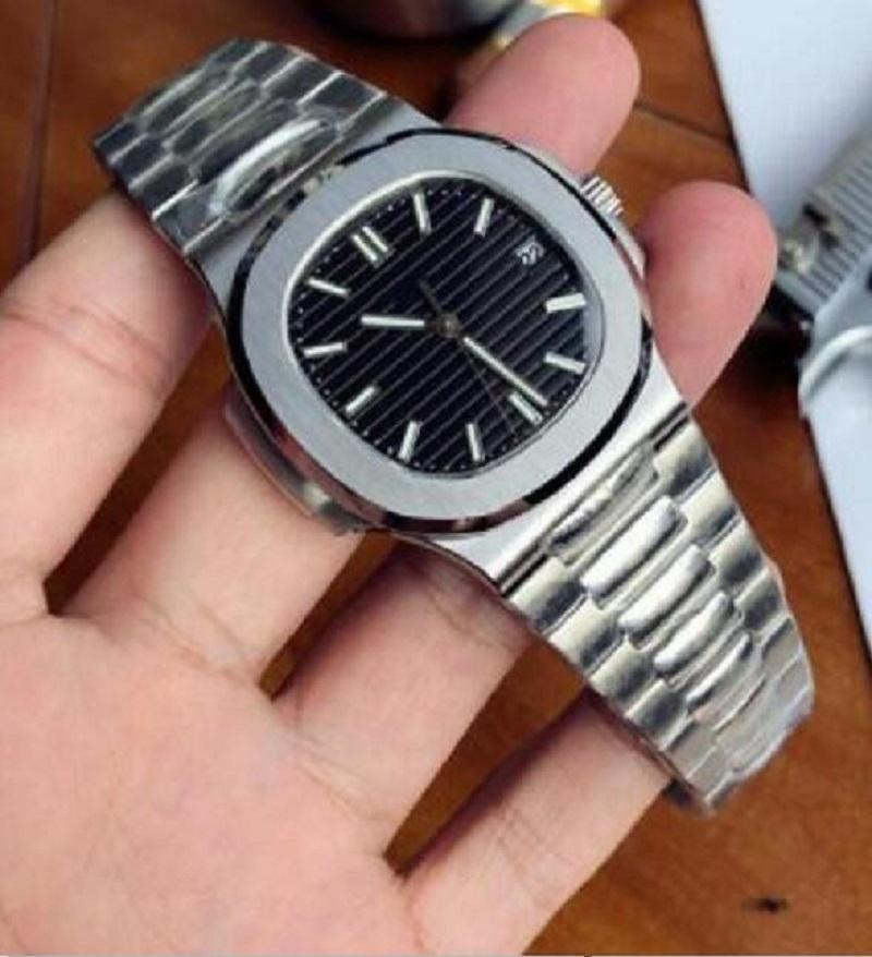 2021 U1 공장 남성 자동 기계식 시계 실버 스트랩 블루 골드 시계 스테인레스 방수 손목 시계 Montre de Luxe Lady