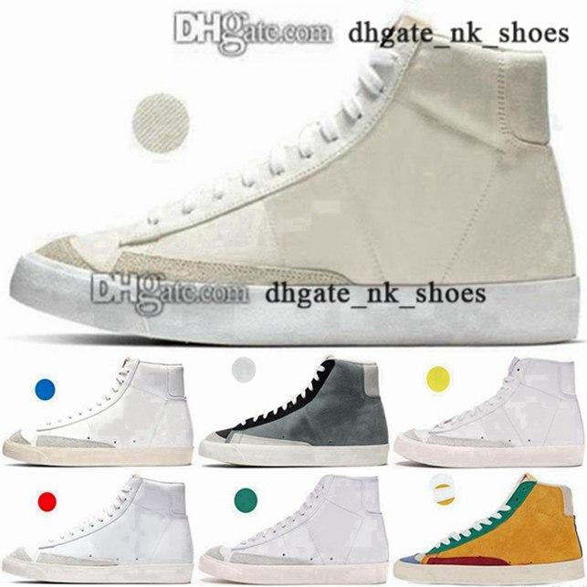Kutu ile Ayakkabı 35 Sneakers Schuhe Erkek Kadın Moda Gençlik Chaussures EUR Enfant Beyaz Rahat 5 ABD 11 Yüksek Boy 4 45 Blazer Orta Erkek Eğitmenler