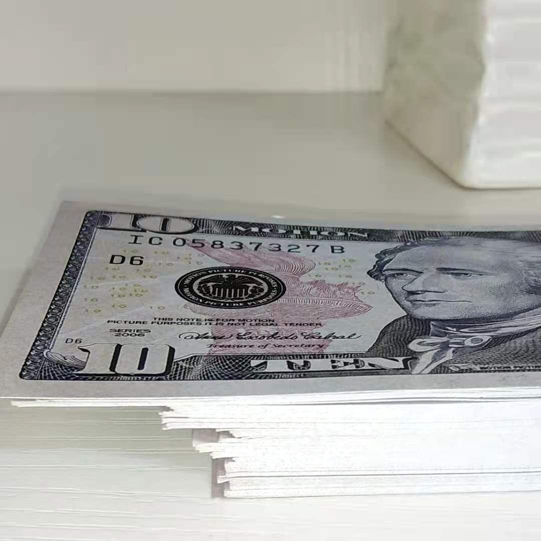 381 симуляция 10Dollar реквизит валюта игры валюта доллар игра реквизит валюта розничная подарки горячие продажи бар реквизит доллар векселей детская игрушка