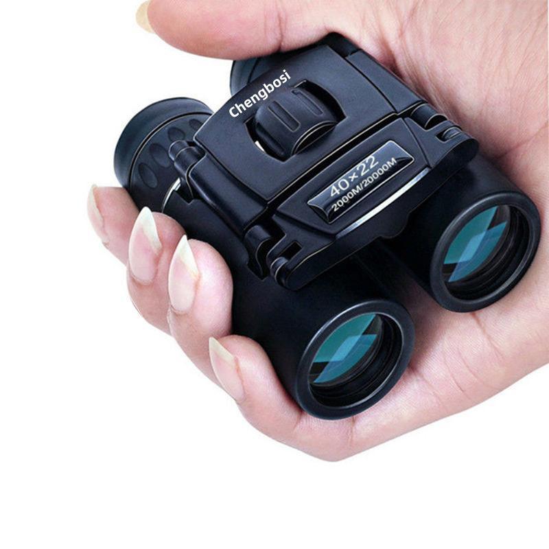 40x22 Компактный масштабный бинокль длинный диапазон 2000M складной HD мощный мини телескоп Bak4 FMC Optics охота спортивные принадлежности для кемпинга Trave