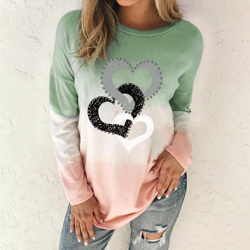 New Arrival Valentine's Day Polyester Winter Sweater For Women's T -Shirt