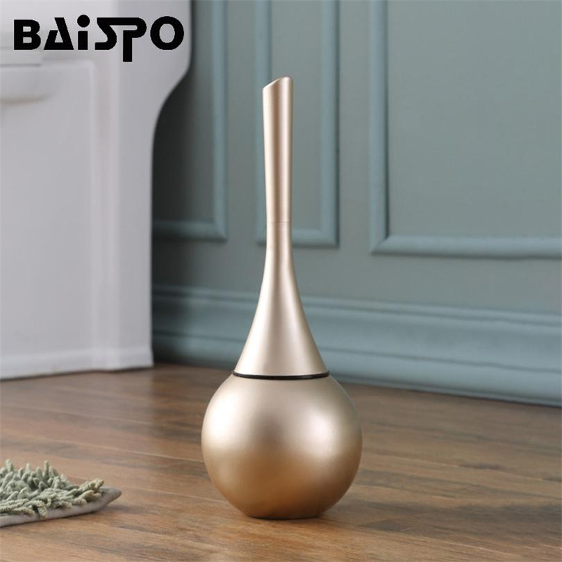 Baispo Toilet Escova de piso de piso Base Limpador ferramenta de escova para WC WC Acessórios de banheiro Conjunto de itens domésticos 201214