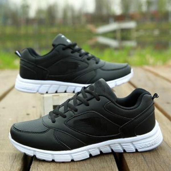 Slittamento da uomo Jeesina su scarpe da passeggio per scarpe da ginnastica casual leggera