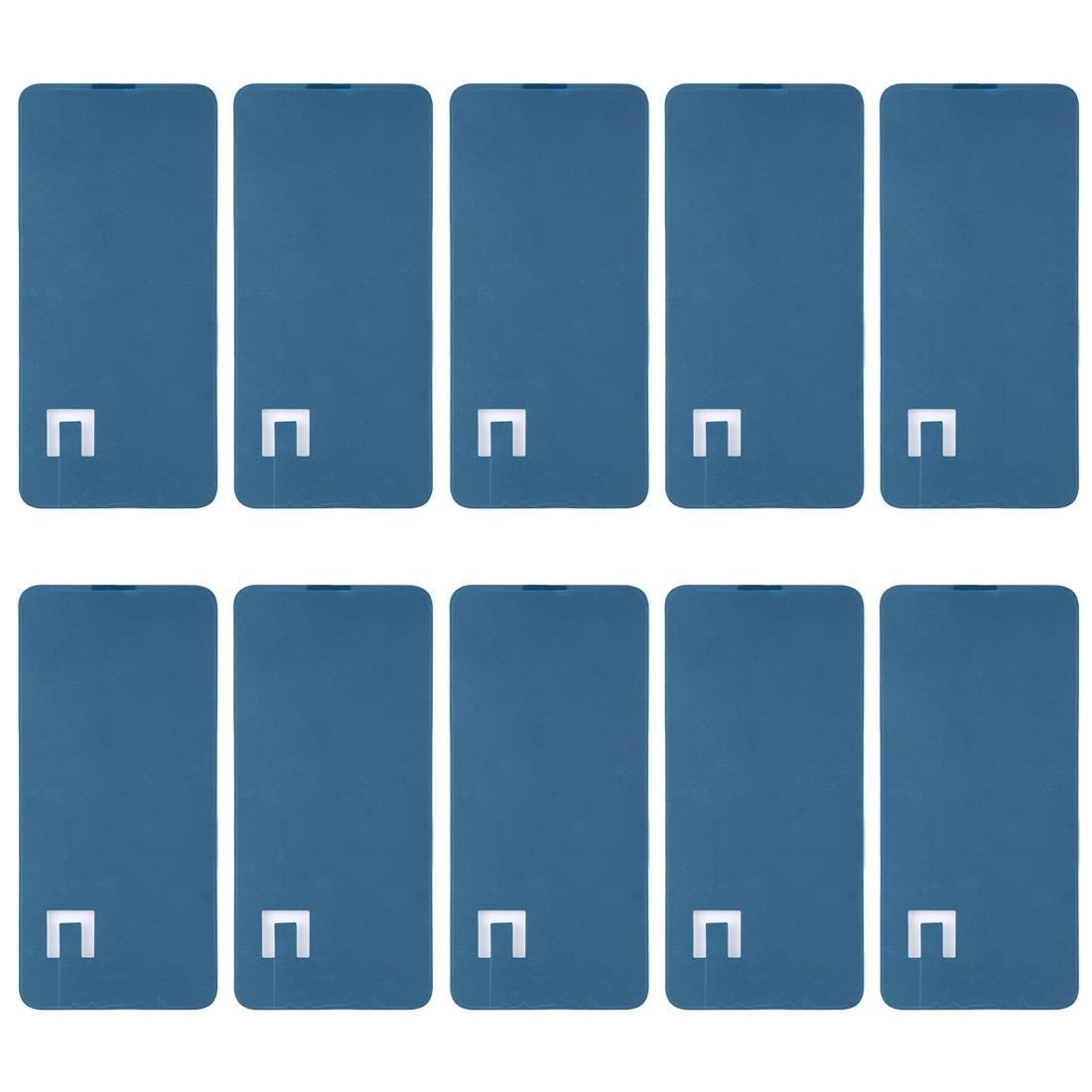 10 pcs adhésif de boîtier avant pour xiaomi redmi note 6 pro