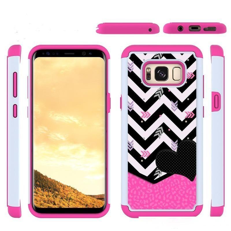 Живопись кожи Чехол для телефона для Samsung Galaxy Note8 / S8 Active Silicone PC TPU TPU Грязнестойкий Степень Cable Телефон