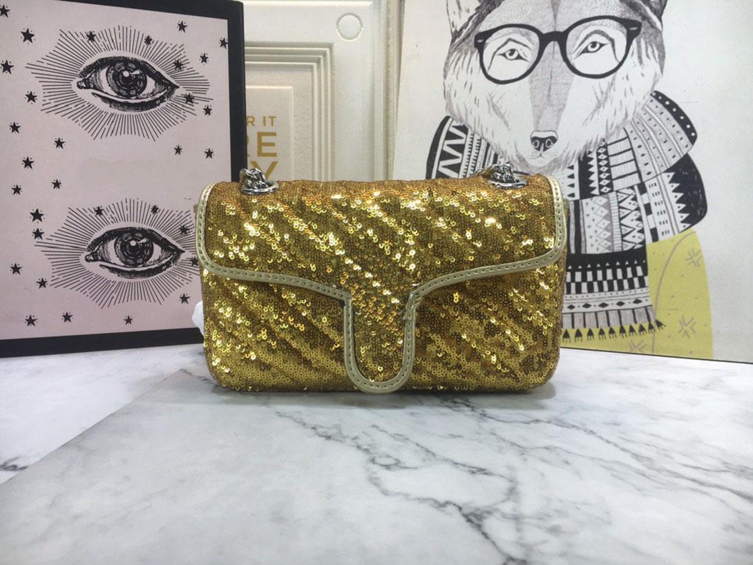 2021 Nuovo Designer femminile Sequin Bankbag Borse a tracolla Borse a tracolla Borse a tracolla Borsa Pochette Borsa Pochette Borsa a portata di mano Borse a tracolla Borsa a tracolla