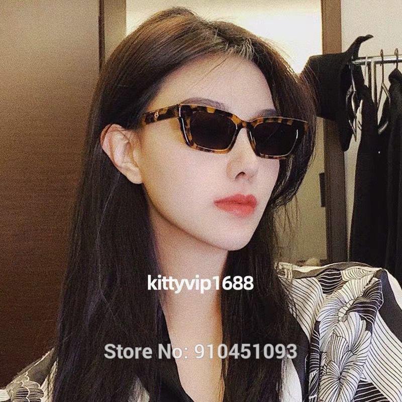 2021 New Jennie 1996 Kooperierte GM Sonnenbrille Mode Frauen Sanfte Designer Monster Sonnenbrille Dame Vintage Kleine Rahmenbrille J1211
