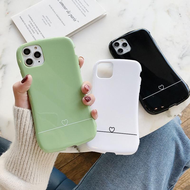 Красочная талия чехол для телефона для iPhone 11 Pro Max X XR XS MAX 6 6S 7 8 плюс конфеты сплошной цвет мягкий простая пара задняя крышка