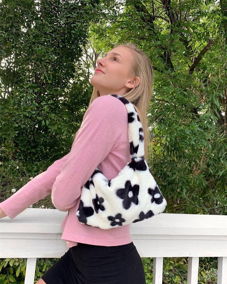 Круговой дизайн мода женщины плечо цветочный мешок кожаные женские поперечины мессенджер ins inship bags дамы кошельки женский круглый # 42933