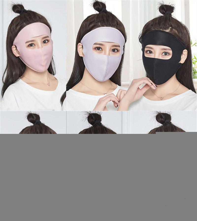 Маска для цельного солнцезащитный крем для первичных летних летних солнца Silk Block защитная летняя маска натягивает дышащую велосипедную одежду Моющиеся Rec9qui