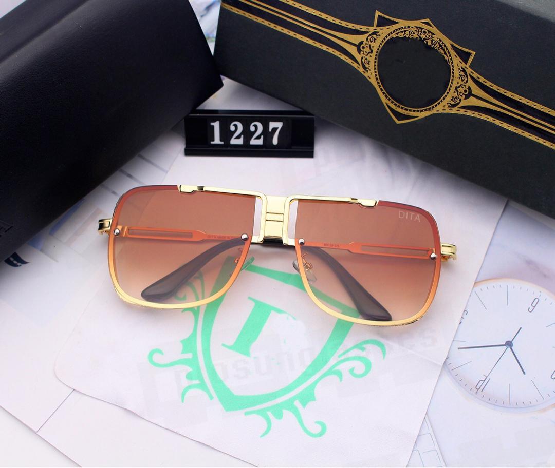 UV400 Menwomen Moda Dita Sunglass Dita Güneş Gözlüğü Koruma Yüksek Güneş Gözlüğü Kalite DeWiw