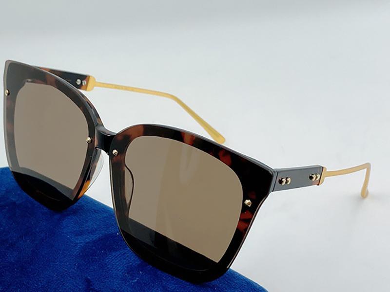 0432 Moda Güneş Gözlüğü Erkekler Için UV Koruma Ile Vintage Squar Görünmez Çerçeve Popüler En Kaliteli Case Klasik Güneş Gözlüğü Ile Gel
