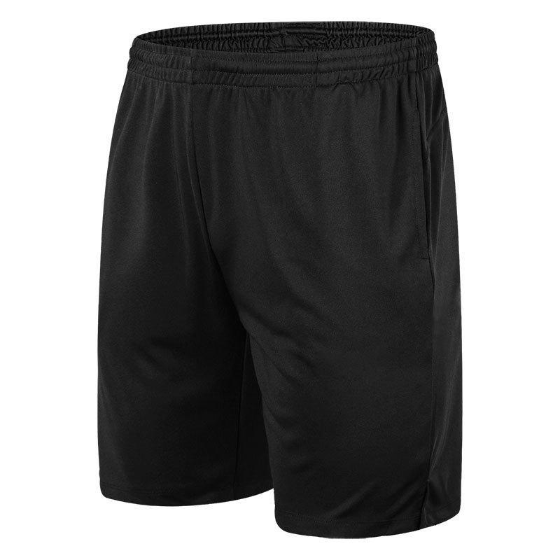 Pantalones cortos de deportes para hombres Running Deportes de ocio Fitness Secado rápido de alta calidad Moda negro Deportes al aire libre Basketbal Shortsl