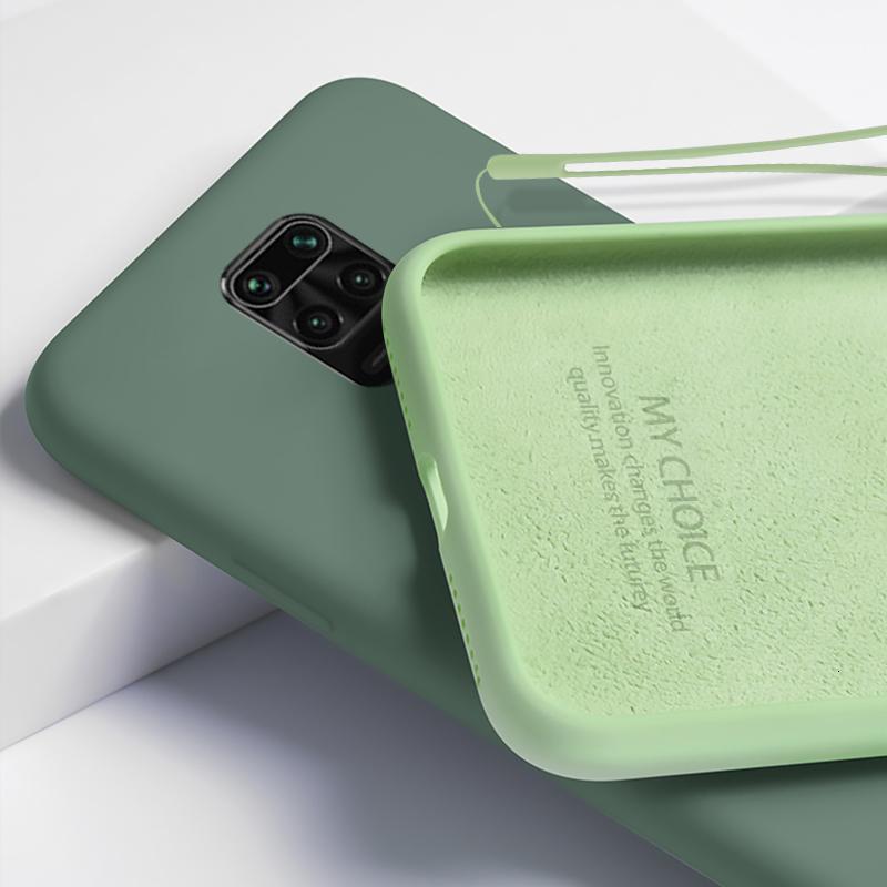 Жальдовый чехол для Xiaomi Redmi жидкий силикон 9 9 9 8T 8 8A 9A MI Примечание 10 Lite 9T Pro Мягкий телефон с ручным ремешком