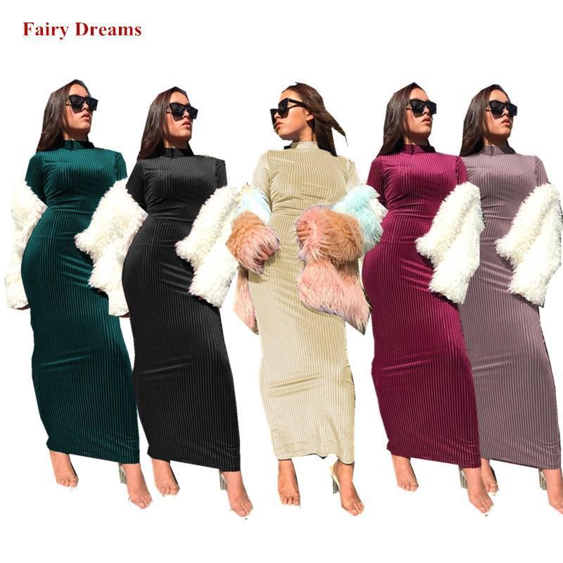 ملابس عرقية عرقية عباية فام دبي مغربي تركيا تركيا المرأة Bodycon مسلم اللباس بنغلاديش قفطان الإسلامي Soild Robe 2021