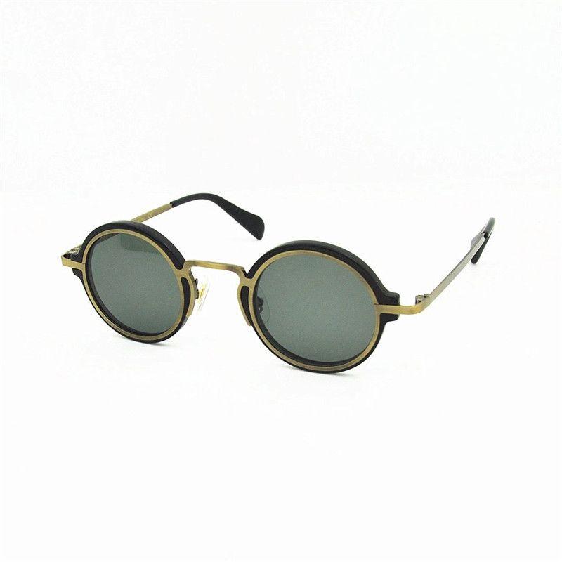 227S Designer Sonnenbrillen Runde für Unisex Mode PawPaw Plate Metall Kombination Trend Avantgarde Stil UV400 Objektiv Sonnenbrillen