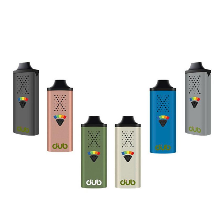 Orijinal GreenlightVapes G9 Dub Buharlaştırıcı Kuru Herb Için 1100 mAh Bitkisel Vape Kalem tip C USB Şarj Haptic Geribildirim