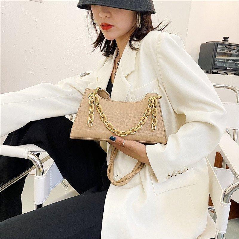 Vintage 2020 bolsa retrô ombro luxo sólido e bolsa bolsa de cor couro pequeno ladys saco bolsa de ombro bolsa pequeno totes pcnbi