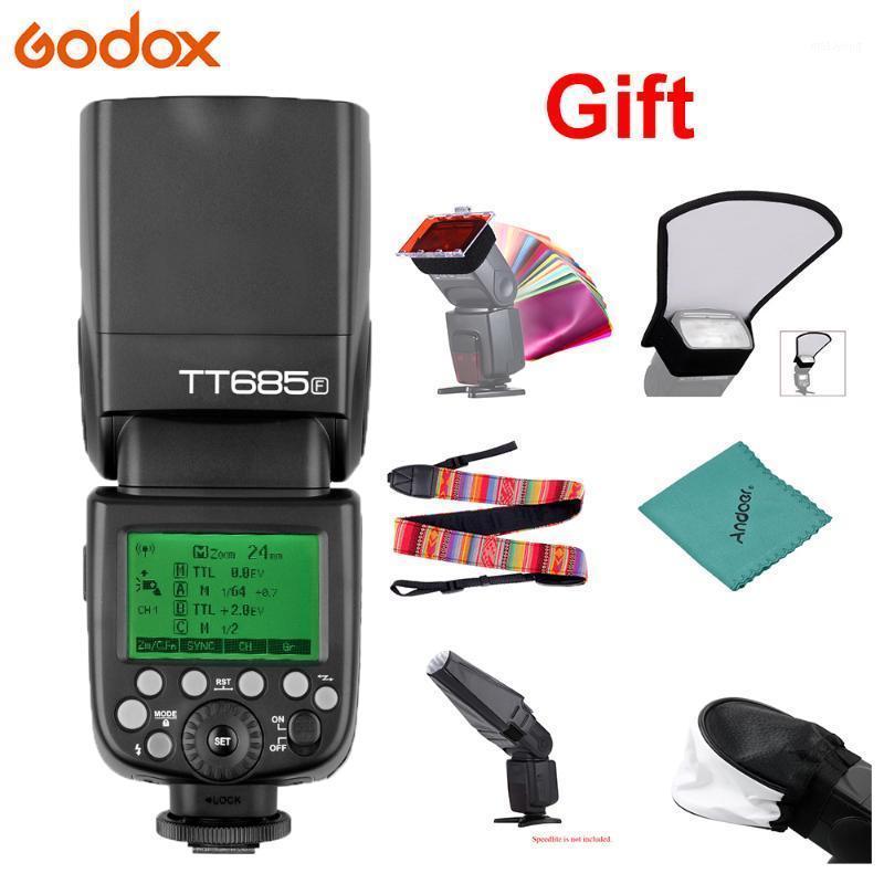 GODOX685F 2.4G HSS 1 / 8000SL GN60 Flash Flash Speedlite per Fuji X-PRO2 X-T20 X-T2 X-T1 X-PRO1 X-T10 X-E1 X-A3 X100F x100t Camera1