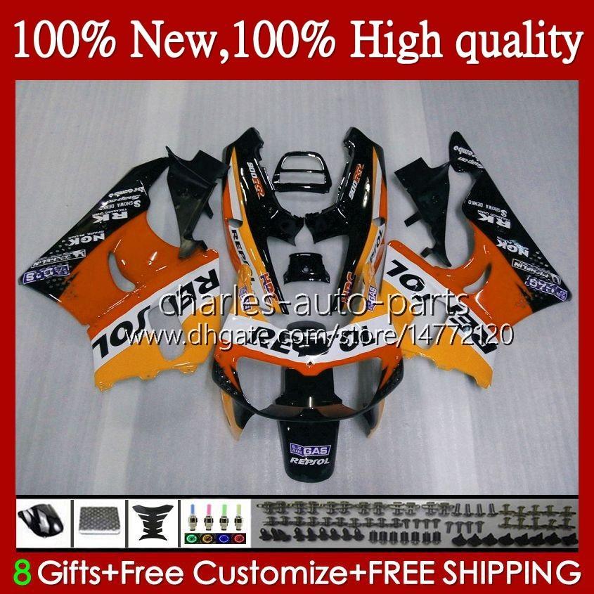 Körper für Honda CBR900 CBR893 CBR 900 893 RR 94 95 1996 1997 Repsol Orange 95HC.116 CBR 893RR 900RR CBR900RR CBR893RR 1994 1995 96 97 Verkleidung