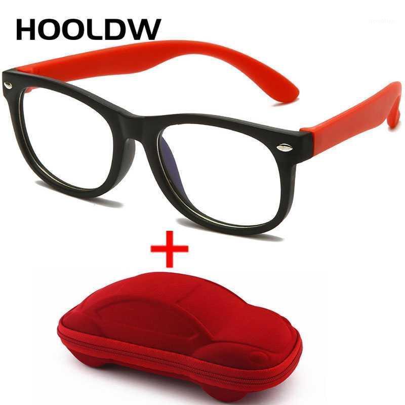 Солнцезащитные очки квадратный синий свет дети очки детские оптические рамки очки мальчик девочек компьютер ясно блокируя анти отражающие очки UV4001