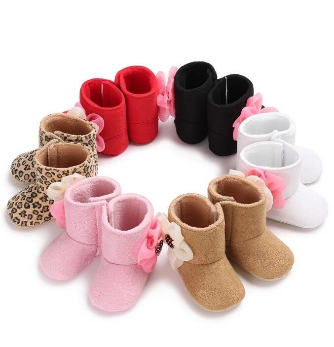 Первые ходунки осень зима детские ботинки пинетки новорожденные дети предварительно довоенные мягкие абодированные ботинки ботинки ботинки Baby Girl