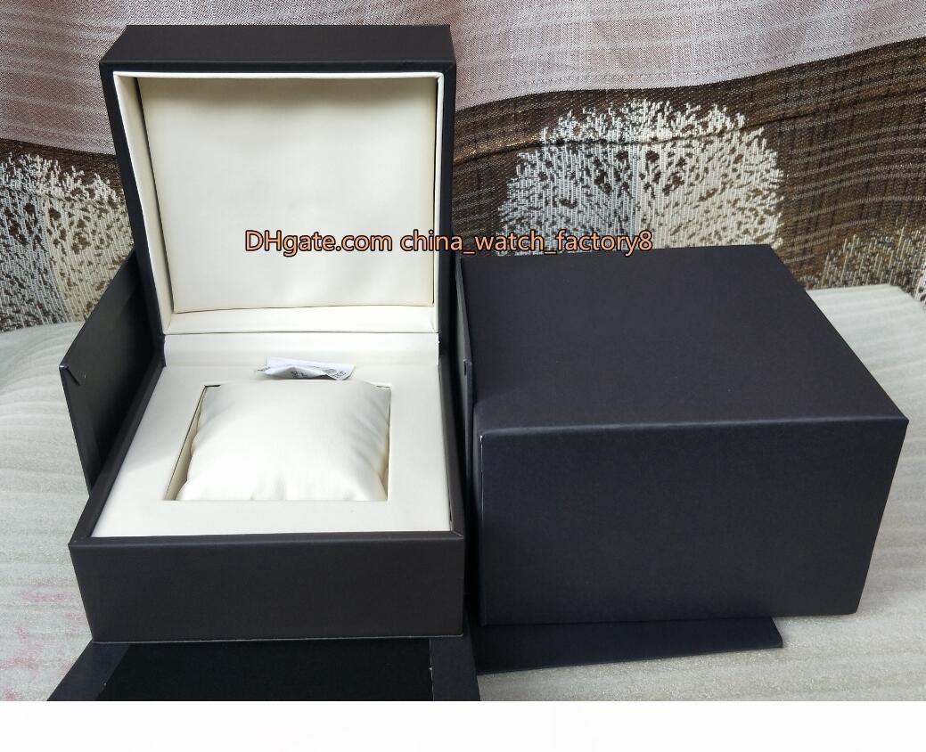 Hot Selling Haute Qualité Tag Regarder une boîte originale Boîte à main Boîtes en cuir sac à main pour Calibre 16 17rs 36RS Aquaracer Chronographe Montres