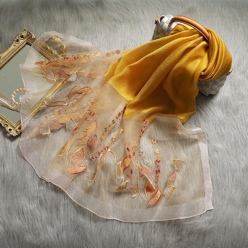 Invierno 2020 Viaje Calidad Mantón y moda Mujeres Hijab High Lady Silk Pashmina Wraps Wool New Shaws Nacido Fribj