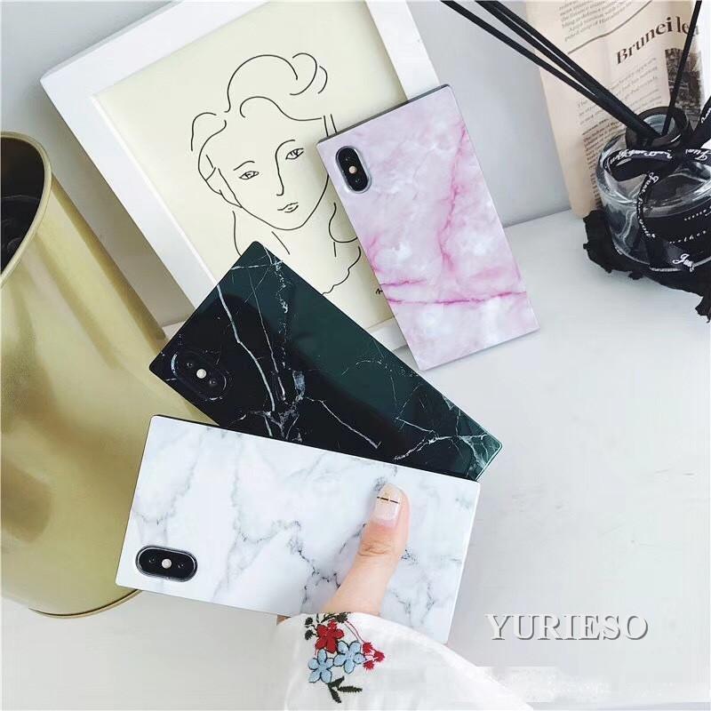 Étui de téléphone en pierre de marbre de mode pour iPhone 11 PRO XS Max xr x 8 7 6S Plus Cas de téléphone TPU Soft TPU Promotion maintenant