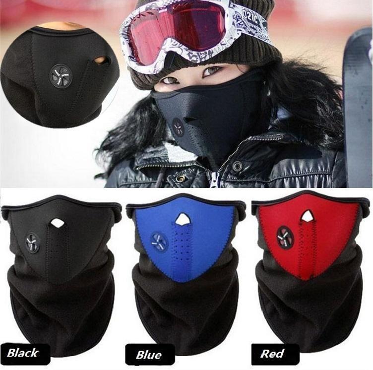 Cas de vélo Hiver Ski Ski Masque Neuf Face Casque de masque pour Skate / Vélo / Moto Casquettes de cyclisme Masques de soirée 10pcs / Lot C0186