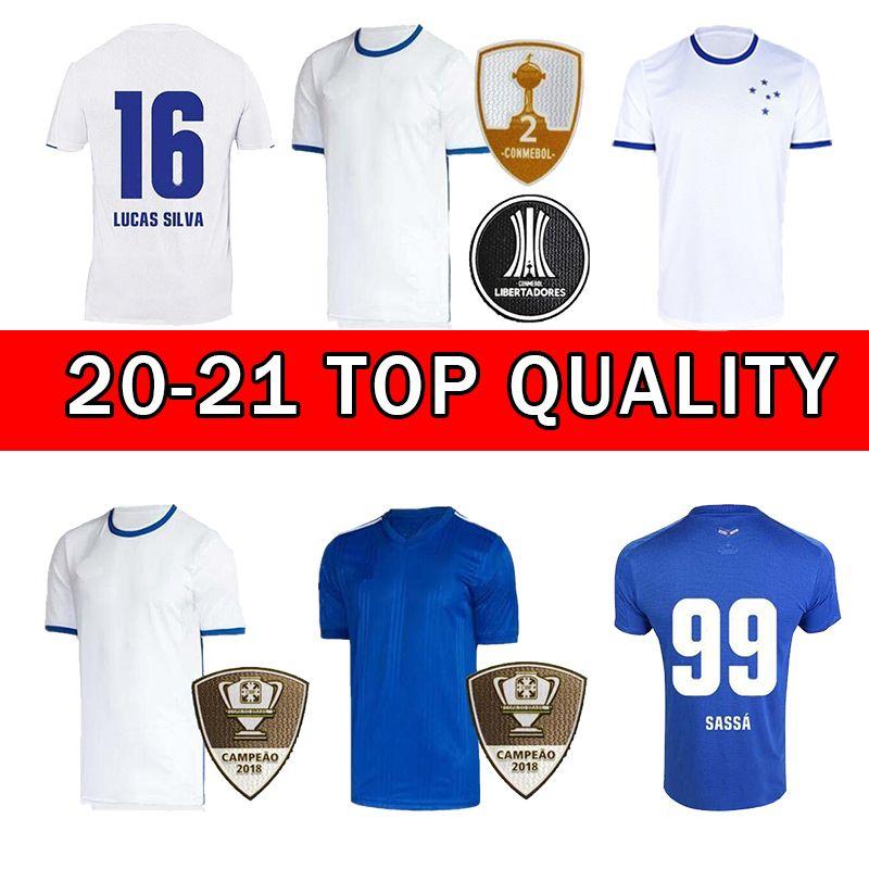 New 20 21 Truzeiro Футбол Джерси Фреда Домой Blue Away Blue Robinho Thiago Neves Men Футбол футбола 2020