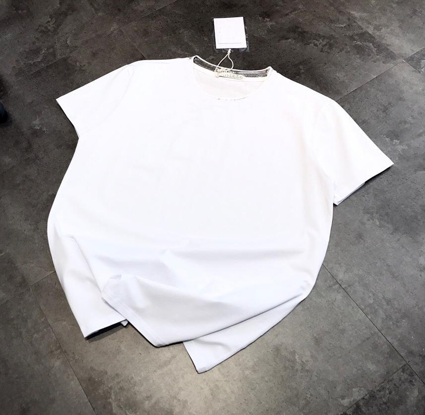 acne  여성 셔츠 여드름 스튜디오 여름 새로운 패션 여성 T 셔츠면 키아라 페 라니 장식 조각 스타일 ACT1의 짧은 여드름