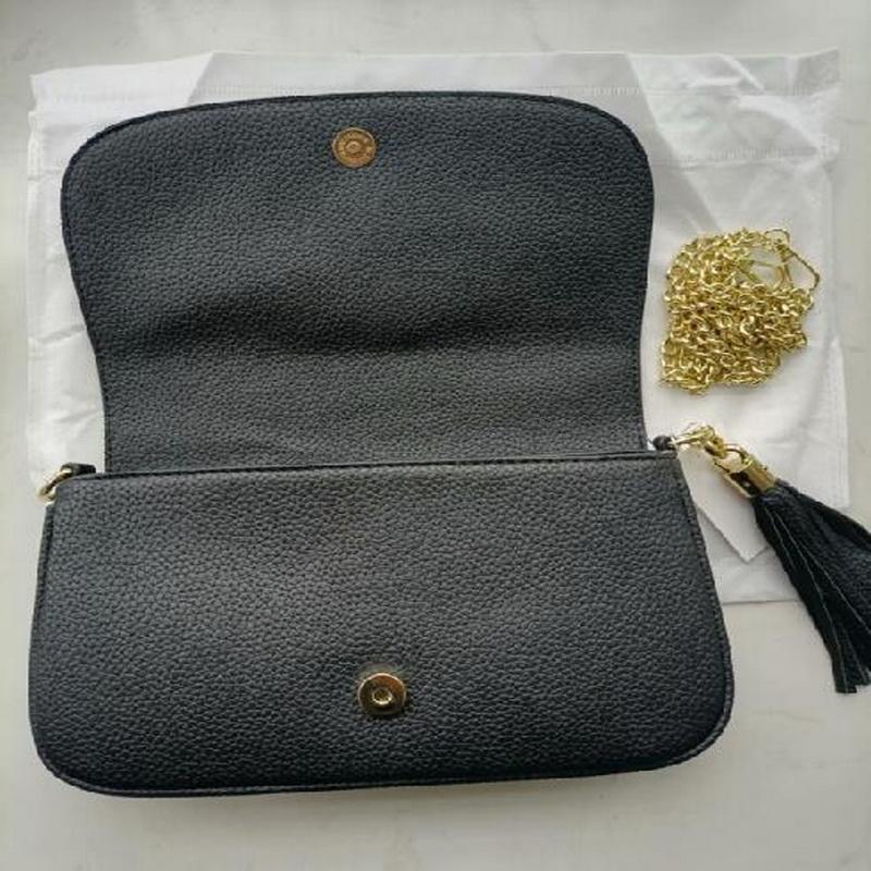 Frauen Umhängetasche PU Leder Mode Tasche Gold Kette Kreuz Körper Weibliche Handtasche Dame Umhängetasche Top Qualität L7742 #
