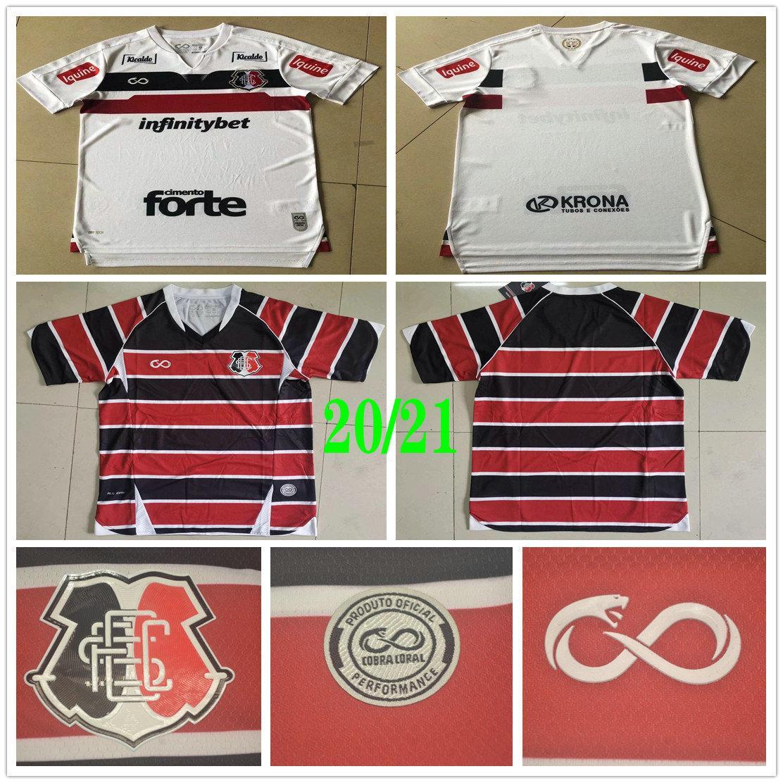 2020 2021 Santa Cruz FC PE Soccer Jerseys Moraes Batista Vieira Botelho Correia Custom 20 21 Home Away Football Shirt Uniform
