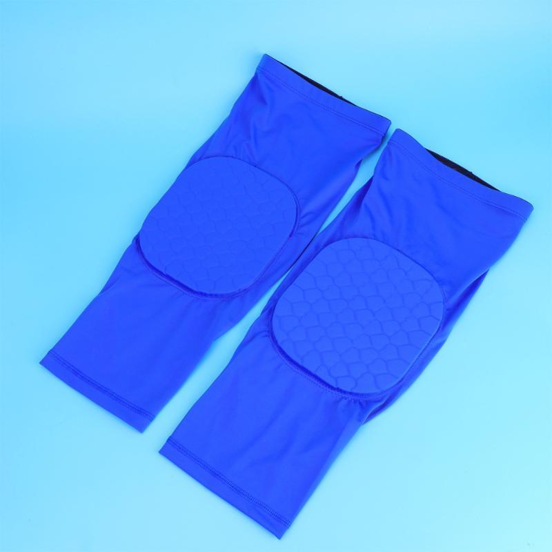 Коленые колодки колена 2 шт. Creative Create Pattern Pattern Соты Соту Спортивные Спортивные Защитные Рукав Дышащий Ожудный Gear Поддержка защитника для Studd