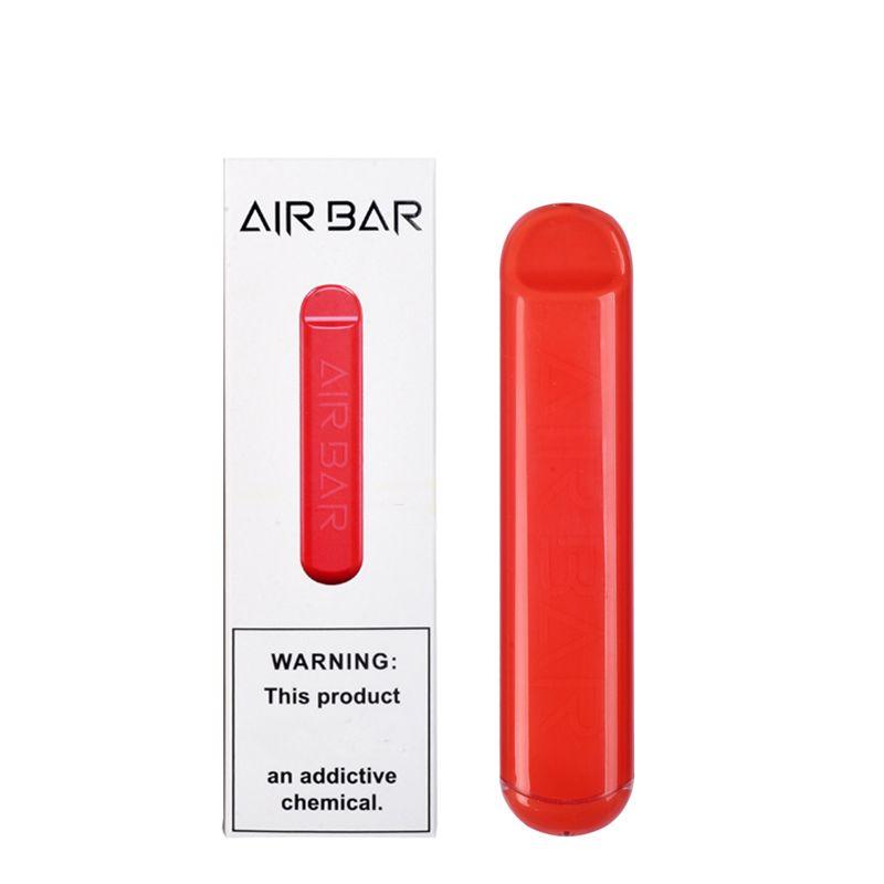 Одноразовые POD Air Bar устройство Vape Pen Kit 380MAH аккумулятор 500 слойки предварительно заполненные пары Pen E CIG портативные системы стартера