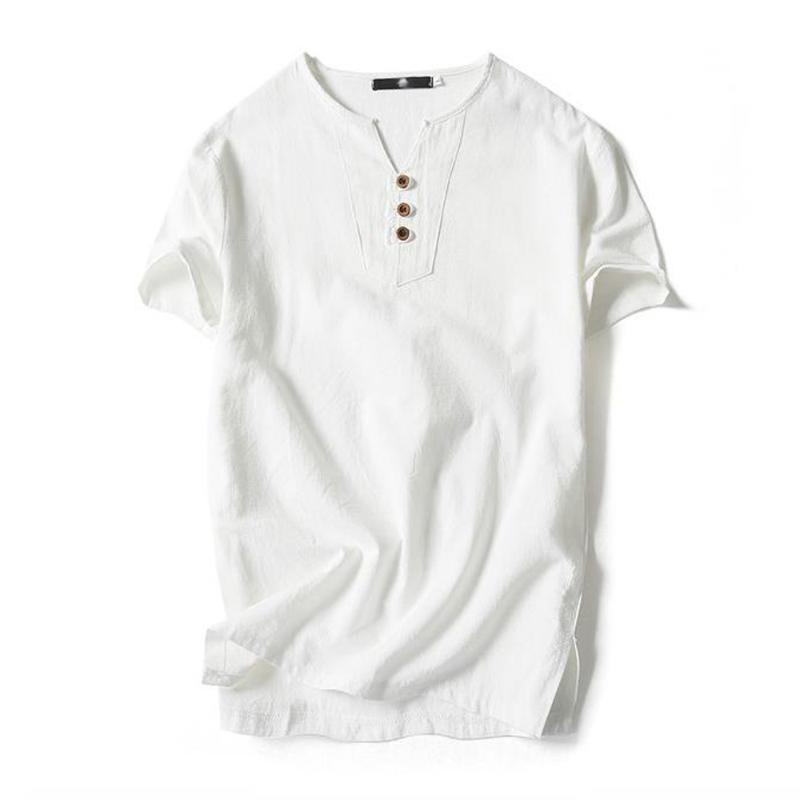 Плюс размер 4XL 5XL хлопковое белье футболки мужские летние Harajuku Tops с коротким рукавом свободные повседневные винтажные белые футболки уличные