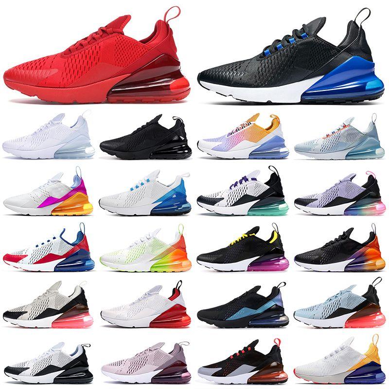 max 270 scarpe da corsa triple nero bianco rosso donna uomo Chaussures Bred Be True BARELY ROSE 270s scarpe da ginnastica da uomo Outdoor Sport Sneakers