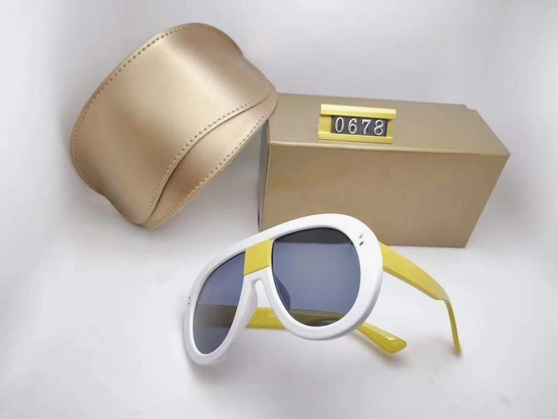 2020 Lüks Errrzh Moda Yaz Adam Kadın Tasarımcı Güneş Gözlüğü Erkek Kadın Lüks Sürüş Güneş Gözlüğü UV400 6 Renk İsteğe Bağlı Yüksek Kalite