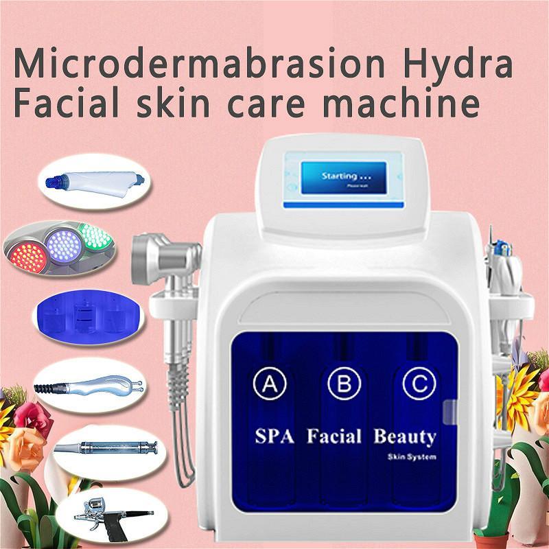 2020 Многофункциональный гидромасштабный микродермабразия лица уход за кожей лица чистый гидра воды кислорода реактивной кожурой для продажи