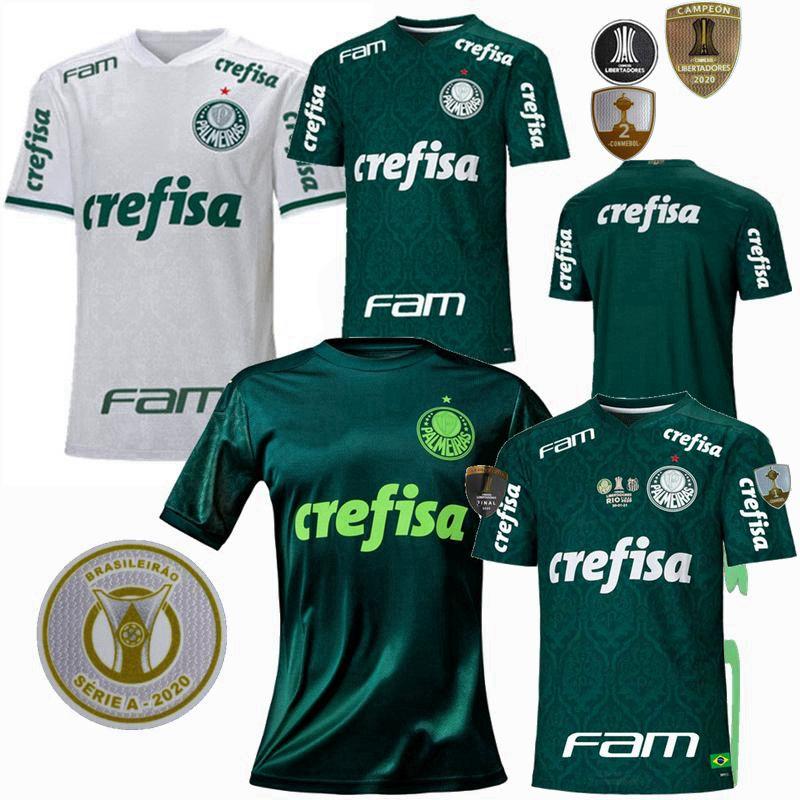 20 21 SE Palmeiras Soccer Jersey Home Away 3rd Sponsor Version Palmeiras L. Adriano Felipe Melo Rony Ramires 2020 2021 T-shirt de football