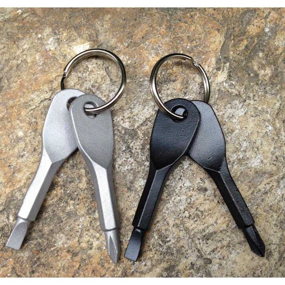 Cacciaviti portachiavi da portachiavi da tasca per esterni mini cacciavite set portachiavi con tasto a mano a croce a flipper wmtkjm giocattoli2010