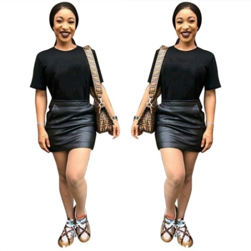 Moda de mujer camisetas Nuevo tipo de impresión para mujer camisetas Casual hembra Señoras Sexy camisetas Tops Tees 2019 Ropa mujer Klw1034