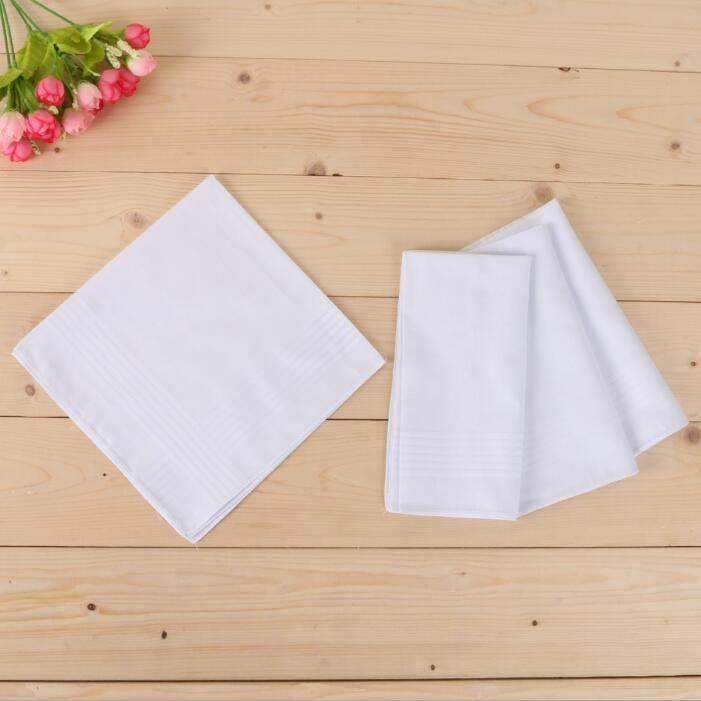 Blanco 40 * 40 cm Tabla de algodón Townboats Handkerchief Satin OWB3010 Hombre Handkerchief Whiterco Plaza Hombres Regalo de Navidad Partido Lqers