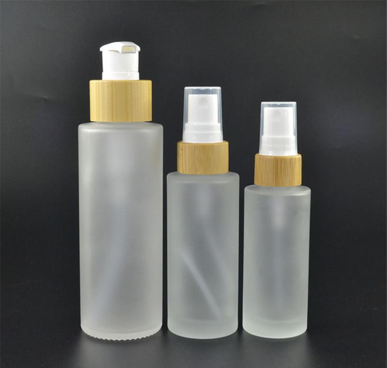 100 х 10 мл роликовых бутылок, 70 х 100 мл матовый стеклянный бамбук и белый спрей Ботт BBYLRN XMHYARD