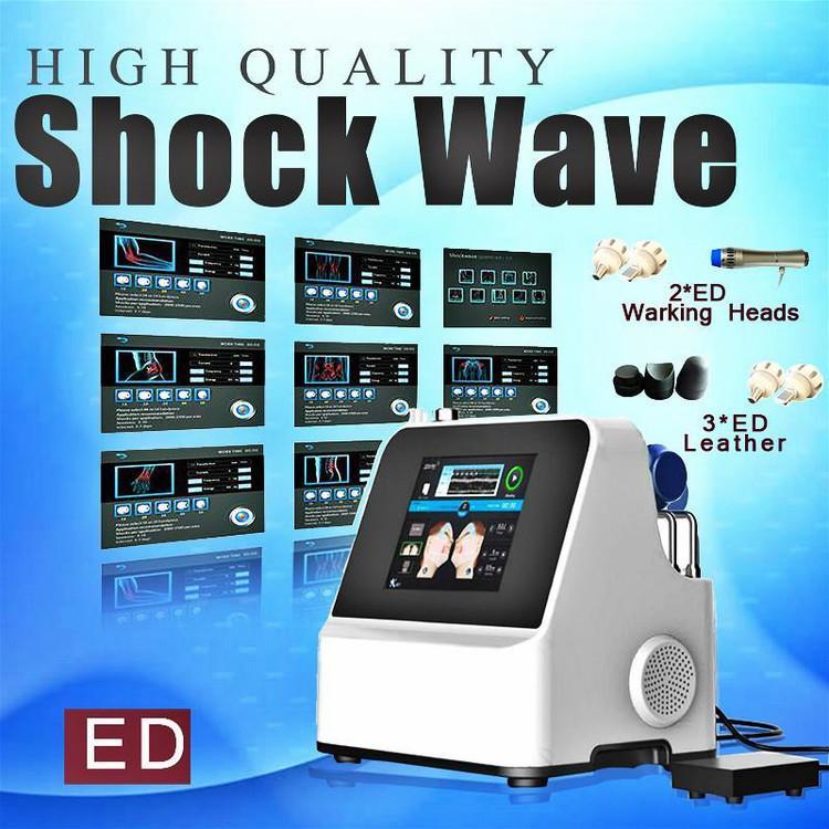 ¡Precio de fábrica !!! Nueva terapia de onda de ondas de choque de baja intensidad de baja intensidad para la disfunción eréctil y físico para el dolor del cuerpo Relif